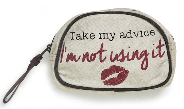 Advice Small Cosmetic Bag-FASHION-PropShop24.com