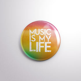 Badge - MUSIC IS MY LIFE-Home-PropShop24.com