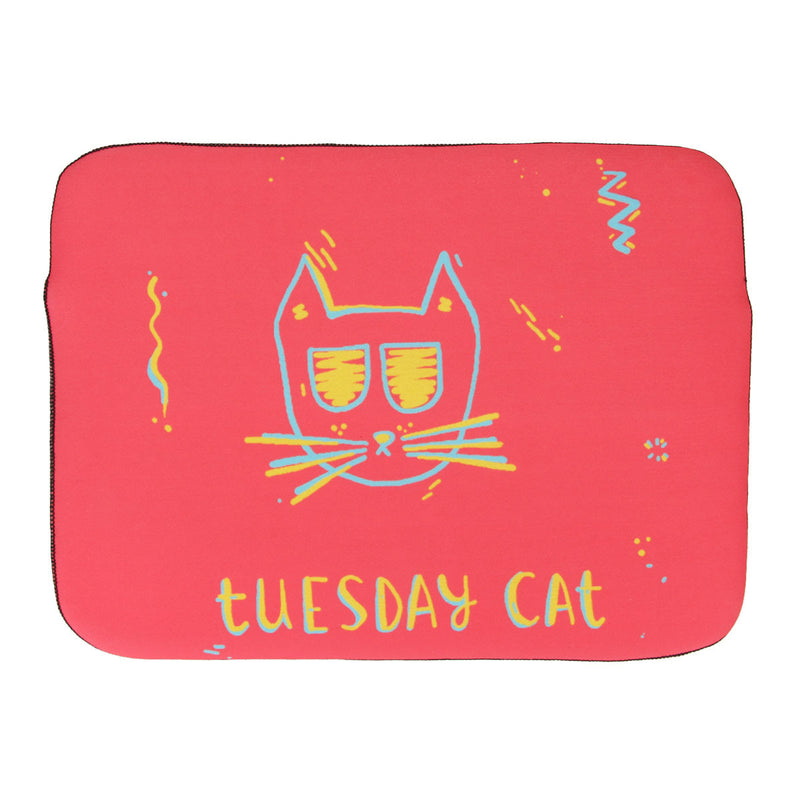 Laptop Sleeve - Tuesday Cat-LAPTOP SLEEVES-PropShop24.com