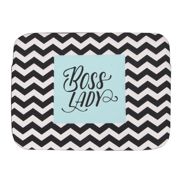 Laptop Sleeve - Boss Lady Chevron-Gadgets-PropShop24.com