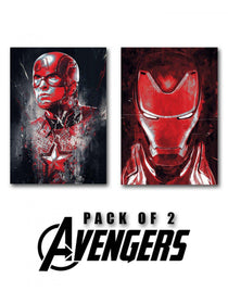 Marvel Avengers Heroes - Set of 2-STATIONERY-PropShop24.com