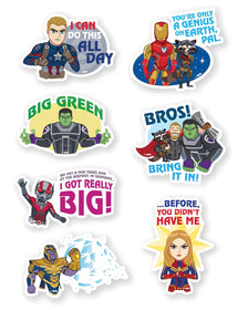 Marvel Funko Stickers - Pack of 7-STATIONERY-PropShop24.com