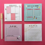 Memo Blocks Combo - Pack of 4-STATIONERY-PropShop24.com