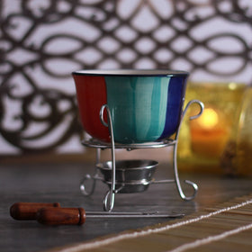 Rainbow Fondue Set For 2-HOME-PropShop24.com
