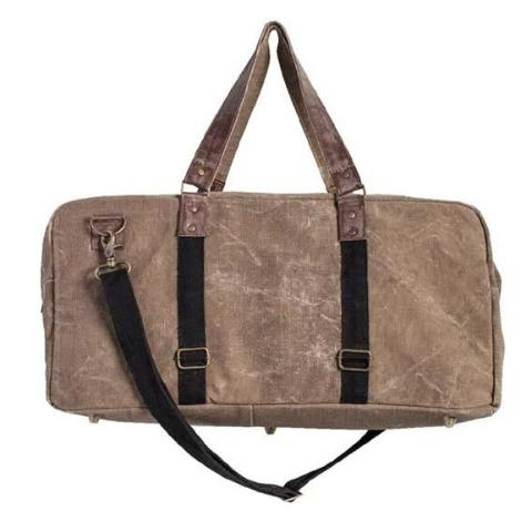 Brad duffel Up-Cycled Canvas-FASHION-PropShop24.com