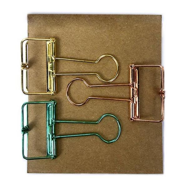 Binder Clips - Metallic