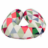 Geometric Pattern U -Shaped Memory Foam Travel Neck Pillow-FASHION-PropShop24.com