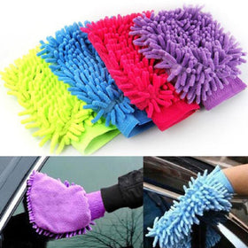 Microfibre Double Sided Cleaning Gloves - Set of 2-PERSONAL-PropShop24.com
