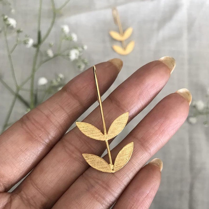 Earrings - Leaf-EARRINGS-PropShop24.com