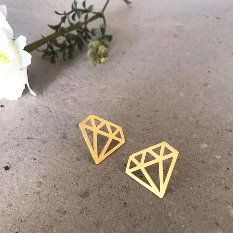Diamond Studs-EARRINGS-PropShop24.com