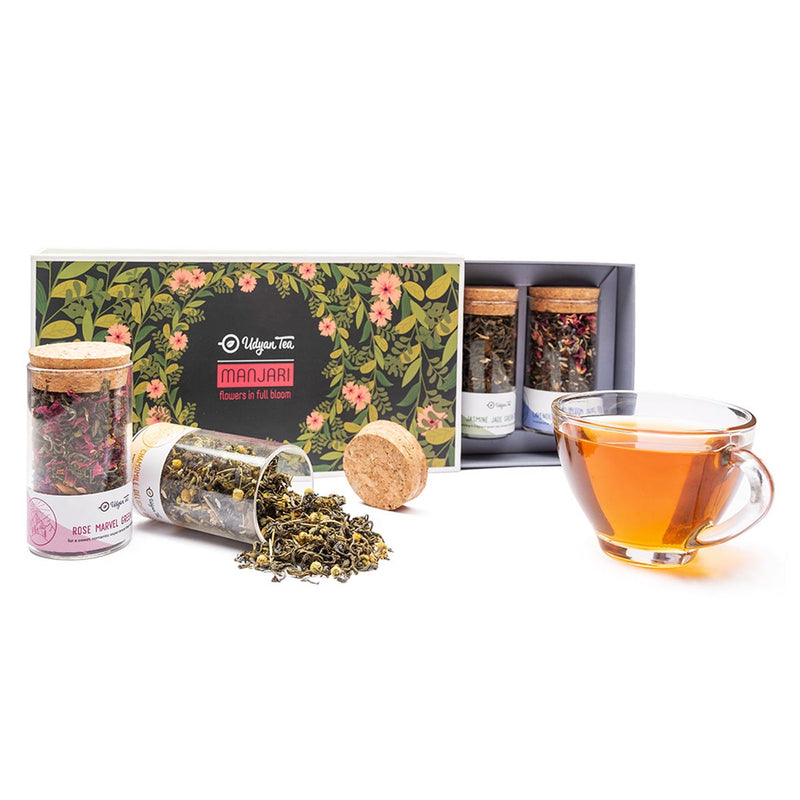 Tea - Manjari Gift Pack-DRINKS-PropShop24.com