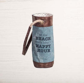 Happy Hour Wine Bag Up-Cycled Canvas-HOME-PropShop24.com