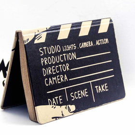 Vintage Notebook - Lights Camera Action-Stationery-PropShop24.com