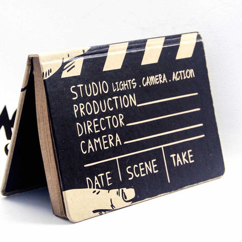 Notebook - LIGHTS CAMERA ACTION - propshop-24