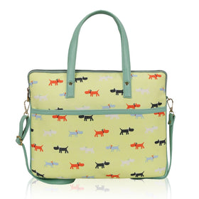 Yellow print kids Laptop Bag-FASHION-PropShop24.com