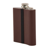 Personalized - Hip Flask - Brown - C.O.D NOT AVAILABLE-HOME-PropShop24.com