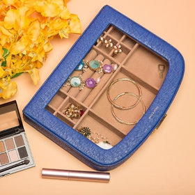 JEWELLERY BOX - MULTIPURPOSE BLUE-HOME-PropShop24.com