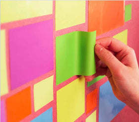Magnetic Sticky Notes Green-Stationery-PropShop24.com