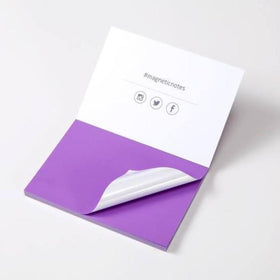 Magnetic Sticky Notes Purple-Stationery-PropShop24.com