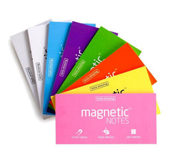 Magnetic Sticky Notes White-Stationery-PropShop24.com