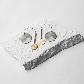 Earrings - Off Balance-JEWELLERY-PropShop24.com