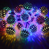 String Lights - Metal Ball - 1M-HOME ACCESSORIES-PropShop24.com