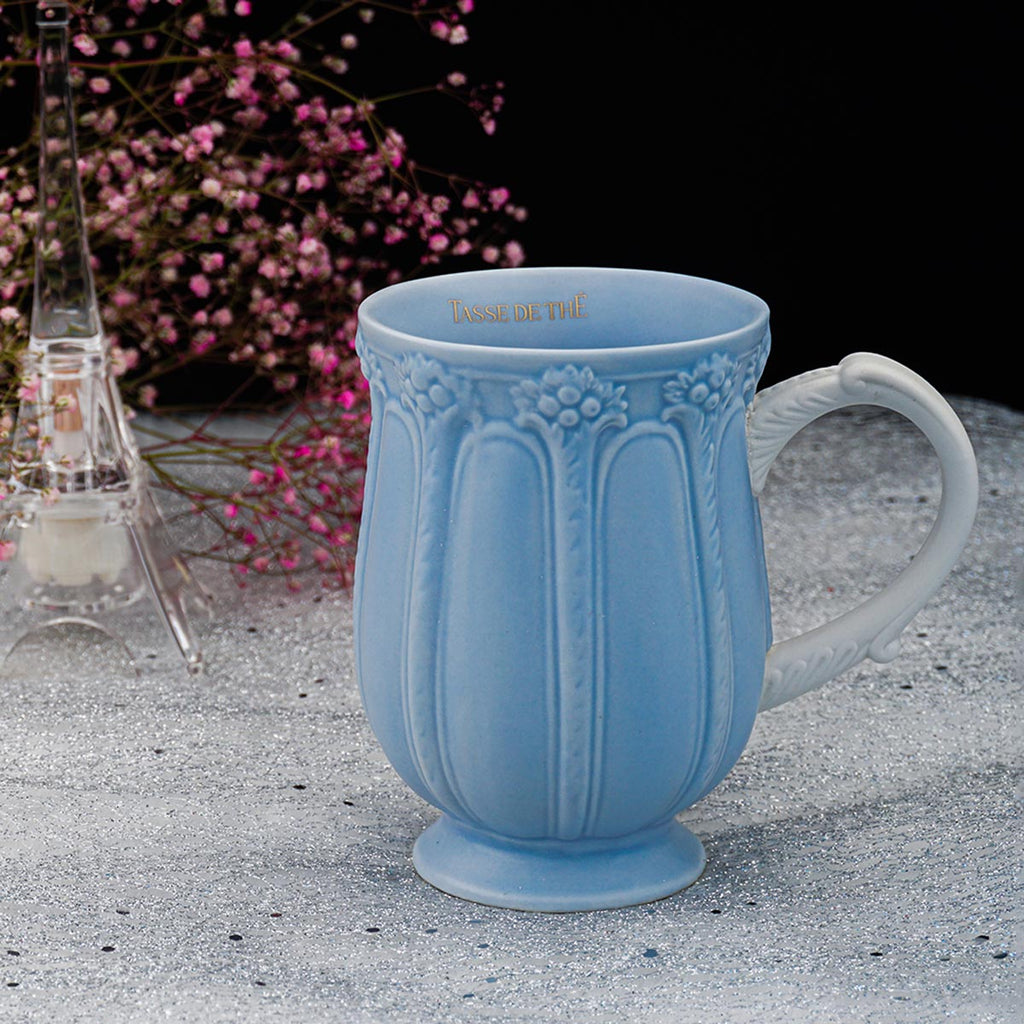 Decorative Vintage Porcelain Tea And Coffee Mug-DINING + KITCHEN-PropShop24.com