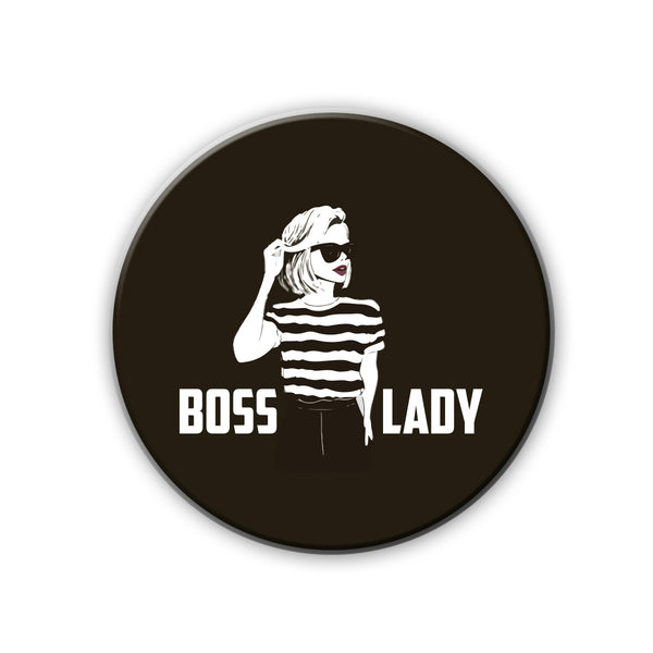 Badge/Magnet - Boss Lady Sketch-HOME-PropShop24.com