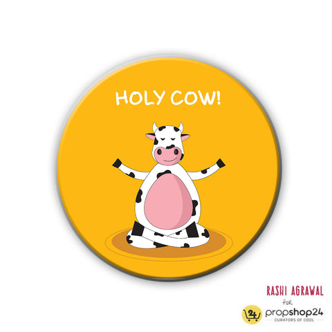 Magnet / Badge - Holy Cow