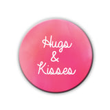 Badge/Magnet - Hugs And Kisses-HOME-PropShop24.com