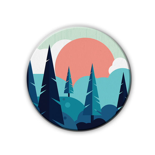 Badge/Magnet - Into The Woods-HOME-PropShop24.com