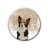 Badge/Magnet - Snow Pupper-HOME-PropShop24.com