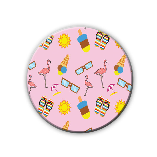 Badge/Magnet - Summer Pattern-HOME-PropShop24.com