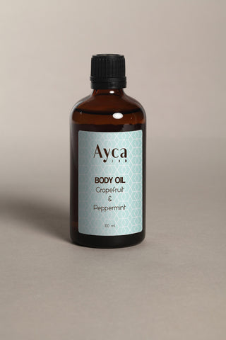Massage/Body oil - Grapefruit + Peppermint-Beauty-PropShop24.com