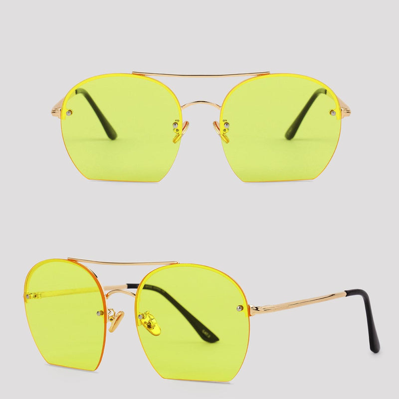 Milan - Yellow - Far Left Sunglasses-WOMEN-PropShop24.com