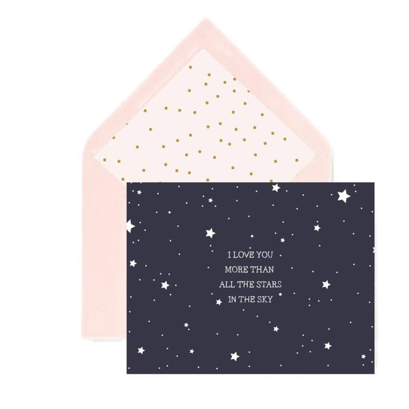 Notecard - Starry Night-GREETING CARDS-PropShop24.com