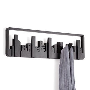 Wall Mountable Shelf Hook - Black-HOME ACCESSORIES-PropShop24.com