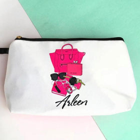 Personalised - Celine Makeup pouch - C.O.D NOT AVAILABLE-FASHION-PropShop24.com