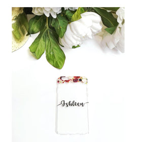 Personalised - Floral Wreath Phone cover - iPhone X - C.O.D NOT AVAILABLE-GADGETS-PropShop24.com