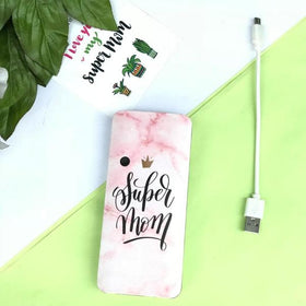 Pink marble effect - Powerbank - C.O.D NOT AVAILABLE-GADGETS-PropShop24.com