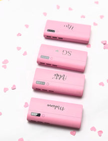 Personalised - Pink digital Powerbank - C.O.D NOT AVAILABLE-GADGETS-PropShop24.com