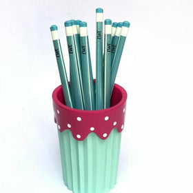 Personalised Pencils - Blue - Set of 12 - C.O.D NOT AVAILABLE-STATIONERY-PropShop24.com