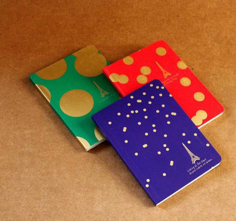 Pocket Notebook - Paris - Set of 3 - propshop-24