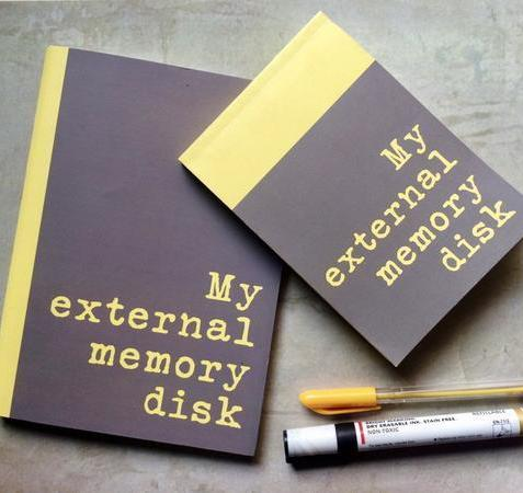 Notebook+ Notepad Set-External memory disk-Stationery-PropShop24.com