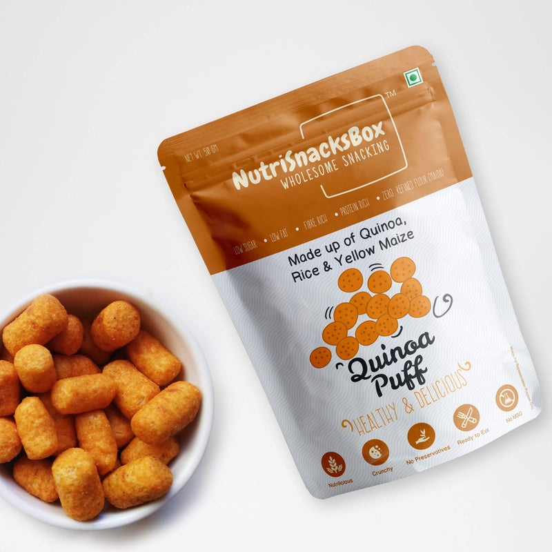 Quinoa Puff - Set Of 2-SNACK + HEALTHY TREATS-PropShop24.com