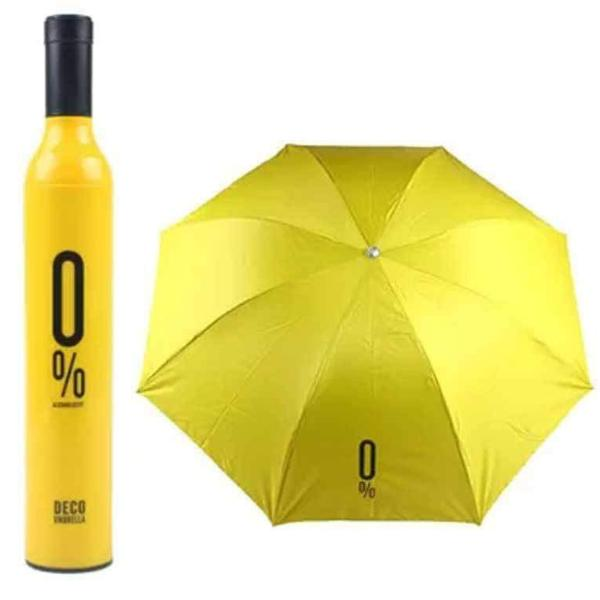 Bottle Umbrella - Yellow-PERSONAL-PropShop24.com