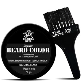 Organic Beard Color (Natural Black)-BEAUTY-PropShop24.com