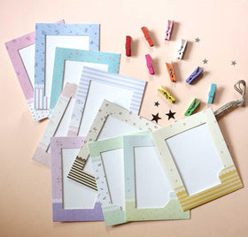 Photo Frame Bunting: Pastel Photo Bunting-PERSONAL-PropShop24.com