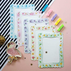 Photo Frame Bunting: Big Floral Photo Bunting-PERSONAL-PropShop24.com