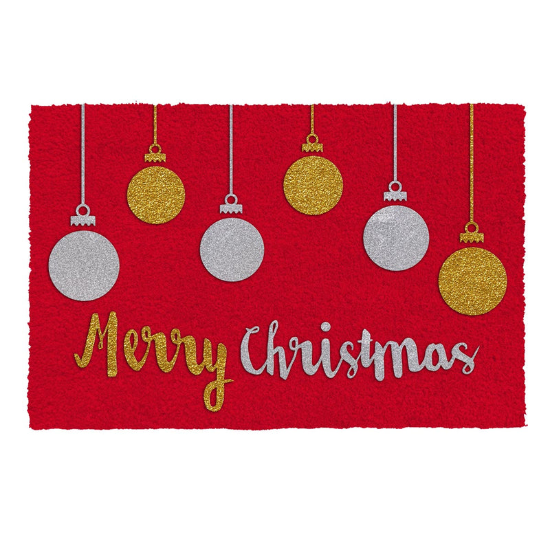 Doormat - Merry Christmas Red-HOME ACCESSORIES-PropShop24.com
